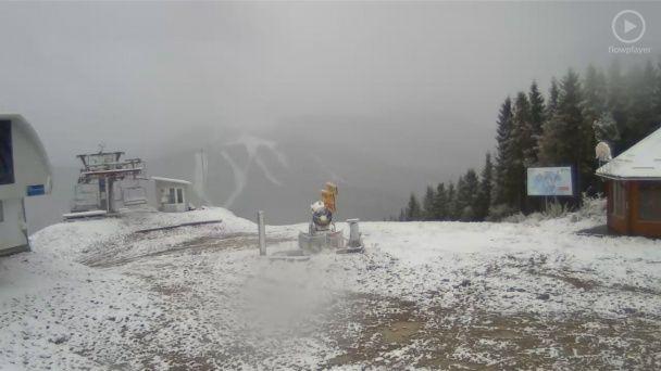 Зимова казка в жовтні: Буковель рясно засипало снігом