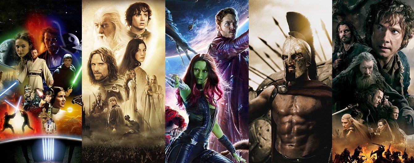 """""""Матрица"""" или """"300 спартанцев"""": 10 самых кровавых фильмов в истории кино. Инфографика"""