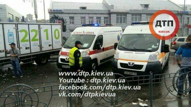 У Києві через п'яних пішоходів сталася серйозна ДТП