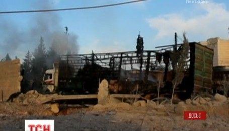 В ООН считают, что гуманитарный конвой в Сирии разбили авиаударом