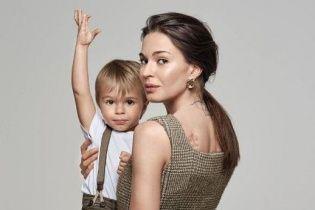 Агнія Дітковскіте вперше показала сина від Чадова
