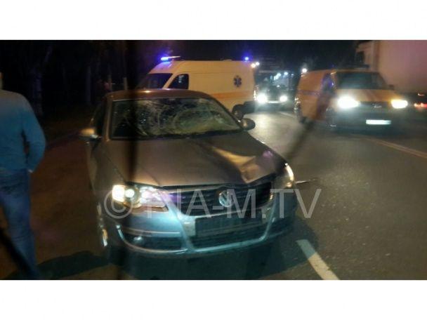 В Мелитополе СБУшник насмерть сбил пьяного пешехода