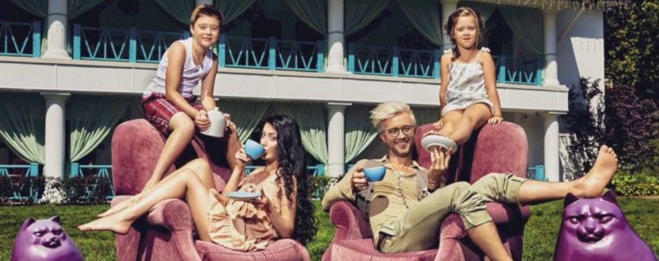 Сергей Бабкин из группы 5'Nizza показал жену и детей