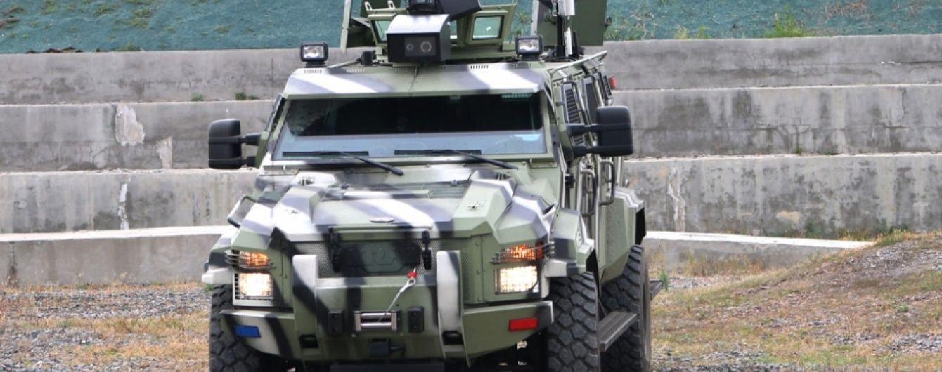 КраЗ испытал первый украинский беспилотный броневик