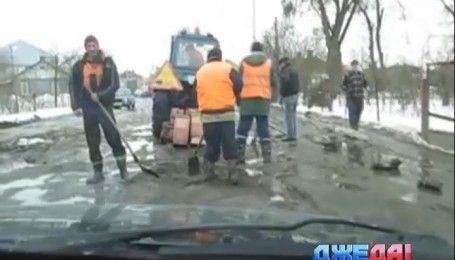Разница строительства немецких и украинских дорог