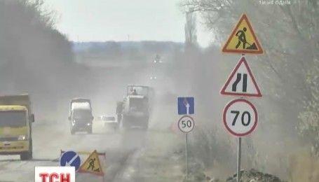 Украинские чиновники объяснили, почему проблему плохих дорог трудно решить