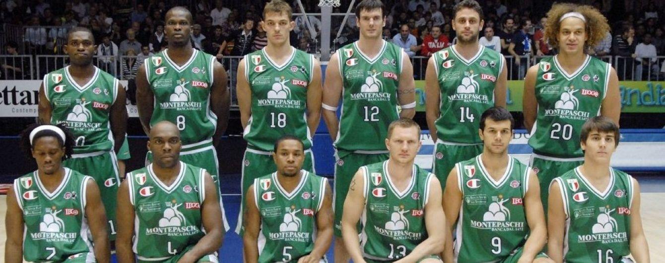 Итальянский баскетбольный клуб лишен двух чемпионств за финансовые махинации руководства