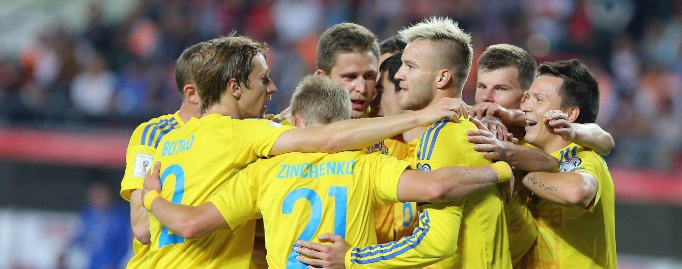 Украина отправилась в Краков на поединок со сборной Косово