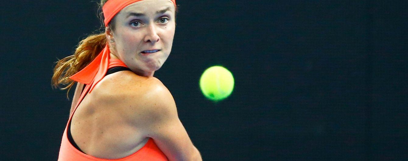 Украинская теннисистка вышла в полуфинал престижного турнира в Китае
