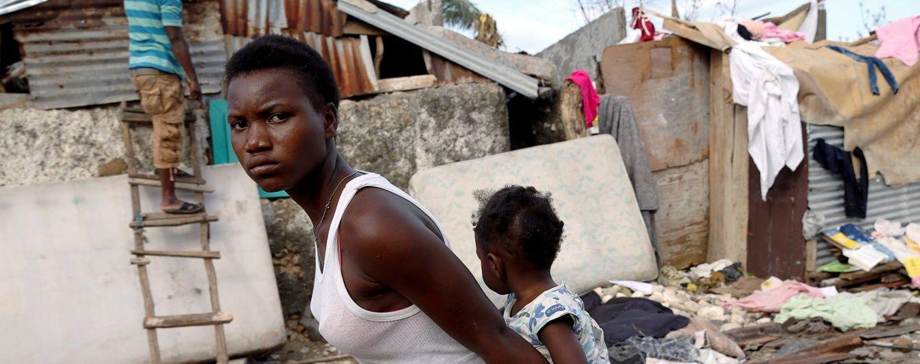 """ООН оприлюднила жахливу цифру постраждалих від руйнівного урагану """"Метью"""" на Гаїті"""