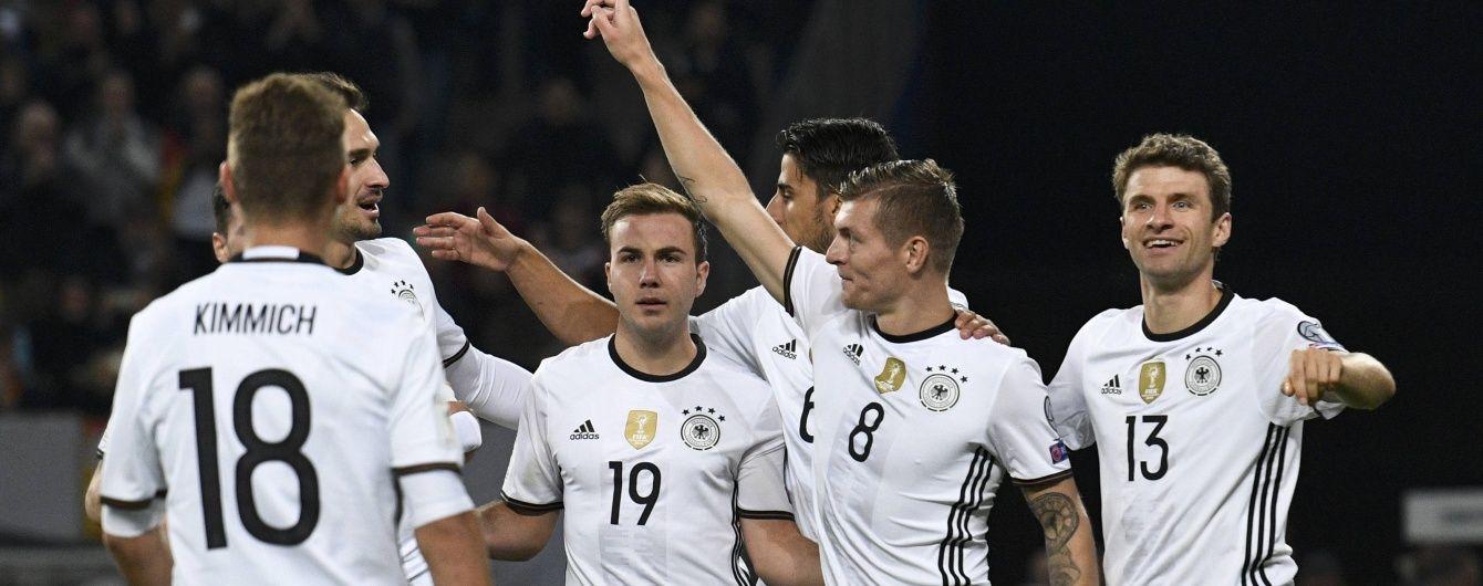 Домашний разгром. Германия обыграла Чехию в отборе на ЧМ-2018