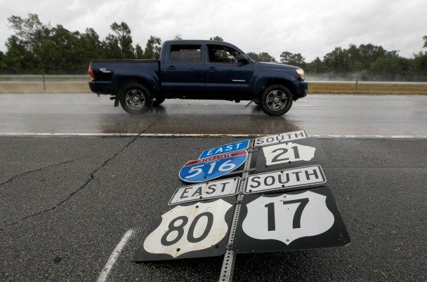 """""""Мэтью"""" ударил по Флориде и добрался до Джорджии и Южной Каролины"""