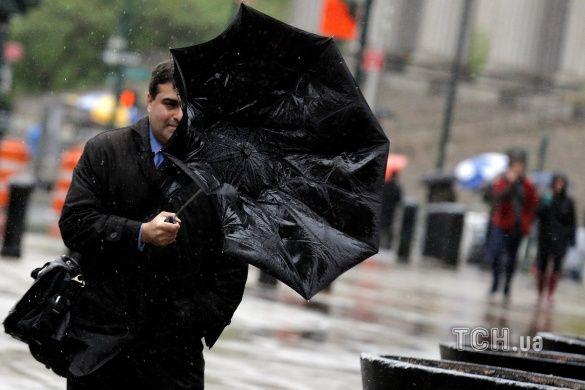 Негода, вітер, дощ