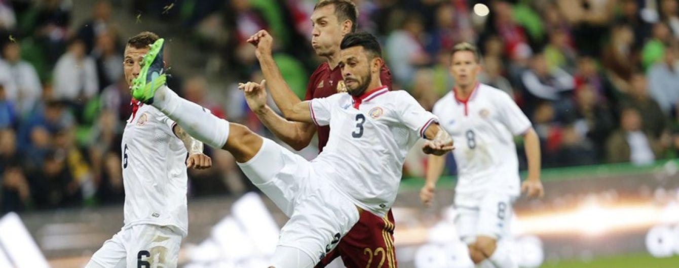 Сборная России открыла новый стадион поражением от Коста-Рики