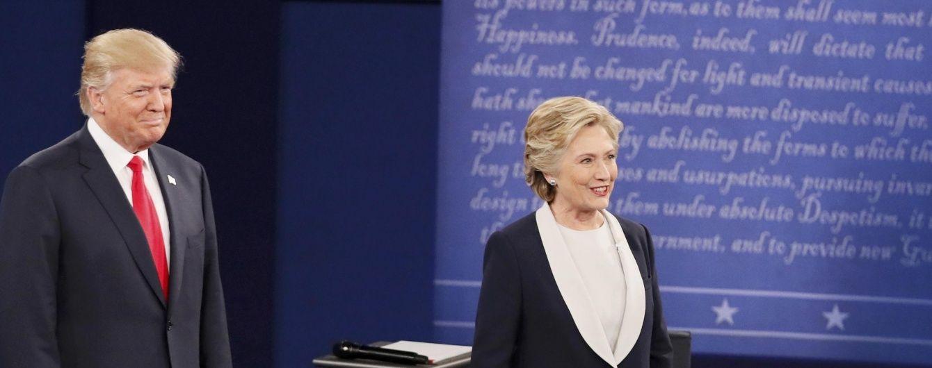 У США відбудеться фінальний раунд дебатів Клінтон і Трампа. Дивіться онлайн