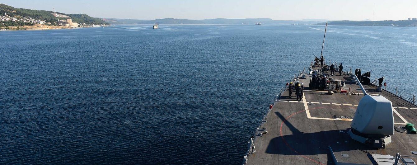 У Чорне море зайшов ракетний есмінець ВМС США і попрямував до Одеси