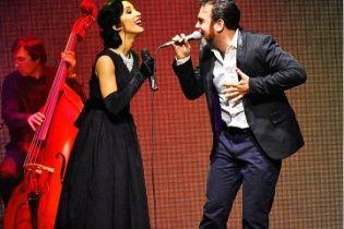 Анна Завальська вперше заспівала дуетом зі своїм чоловіком