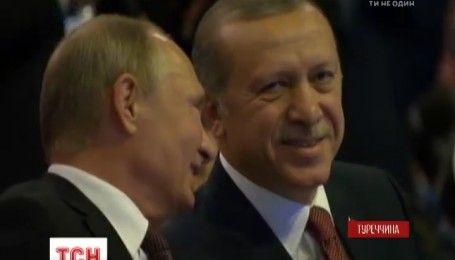 """Путін домовився з Ердоганом про створення газопроводу """"Турецький потік"""""""