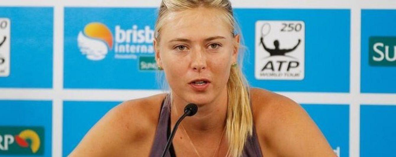 Именитая российская теннисистка Шарапова впервые за девять месяцев приняла участие в турнире