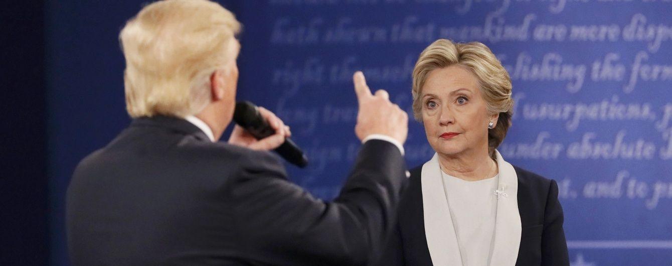 Скандалист Трамп предложил Клинтон тест на наркотики