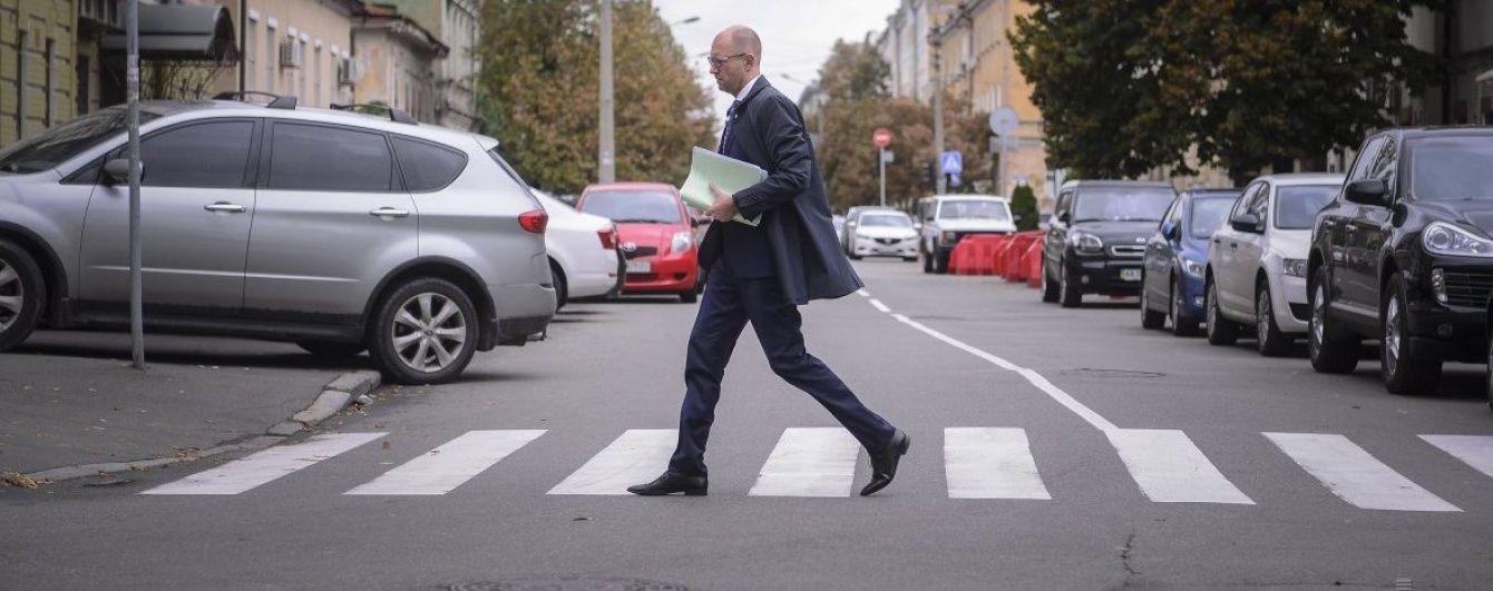"""Яценюк прибув на допит до ГПУ у """"справі Майдану"""""""