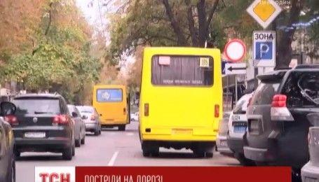 Неизвестный обстрелял маршрутку в Одессе