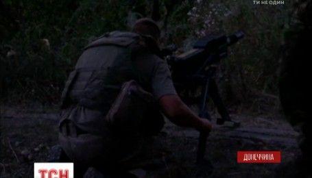 Україна в огні: на позиції української армії впало близько двохсот снарядів різного калібру