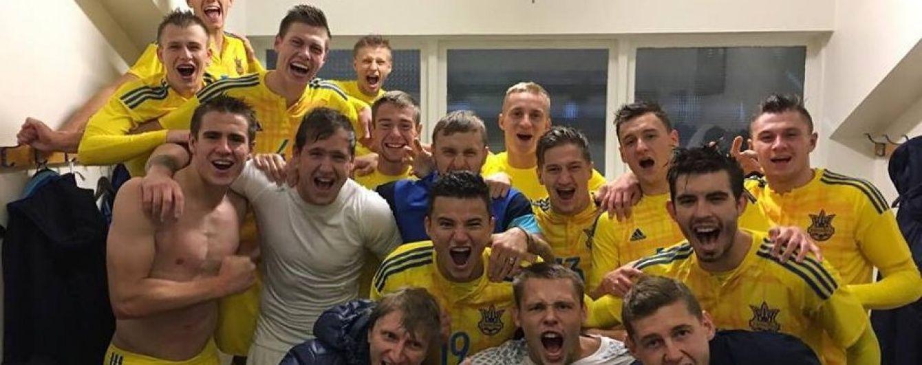 Молодежная сборная Украины обыграла Исландию, но не вышла на Евро-2017