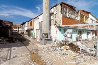 Журналисты показали разрушенное боевиками Широкино на видео в 360 градусов