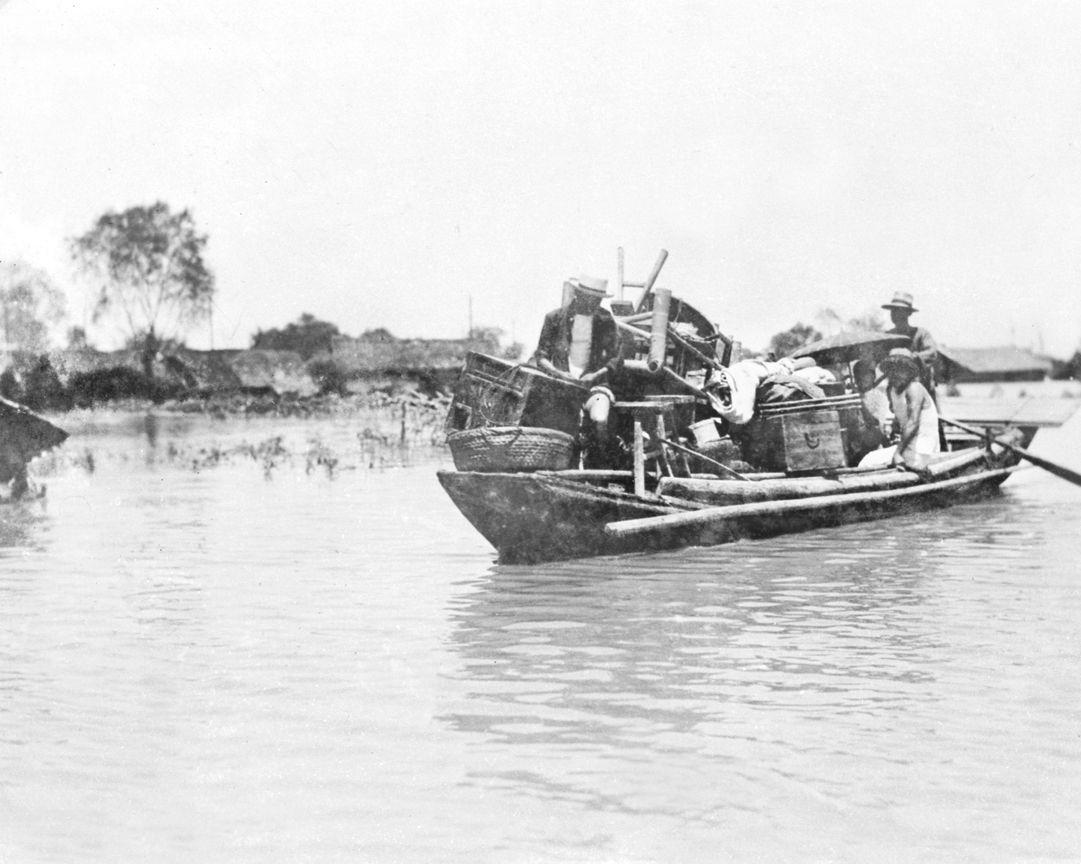 Наводнение в Китае. 1931 год