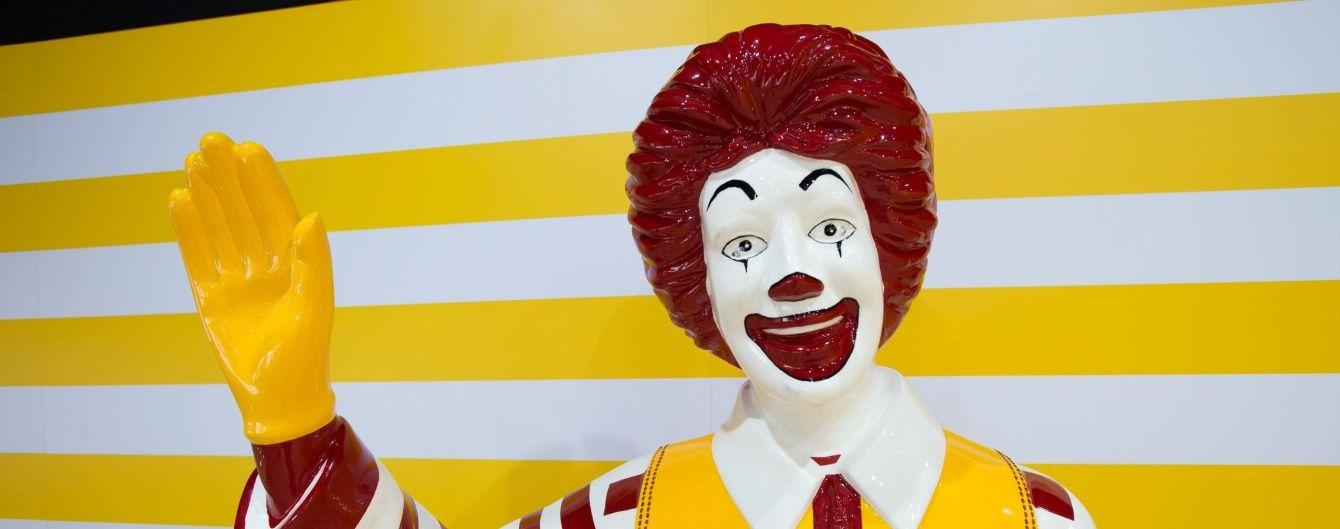 McDonald's обмежить виступи свого талісману через переполох із моторошними клоунами