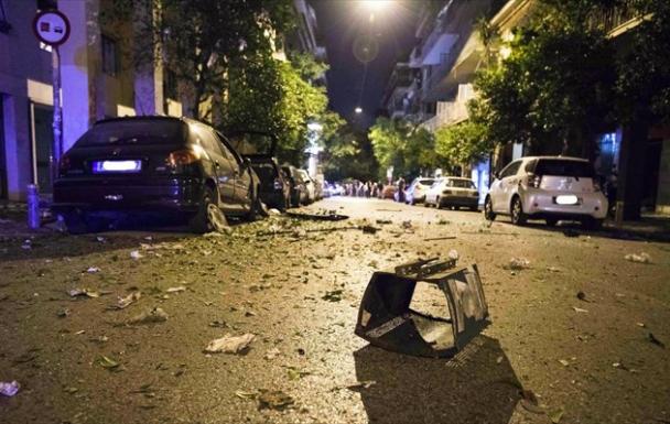 В Афинах произошел взрыв