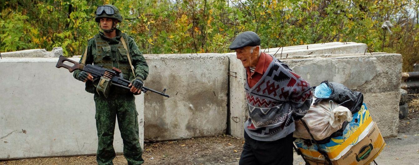 У Станиці Луганській зірвалося розведення військ через обстріли бойовиків