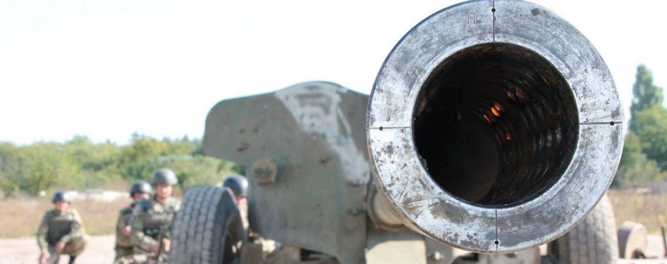 Возле Мариуполя боевики выпустили по украинским военным 380 снарядов. Хроника АТО