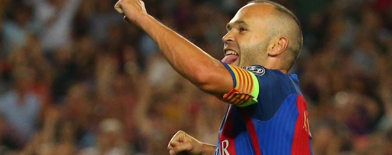 """Зірка """"Барселони"""" Іньєста зможе покинути клуб, коли захоче"""