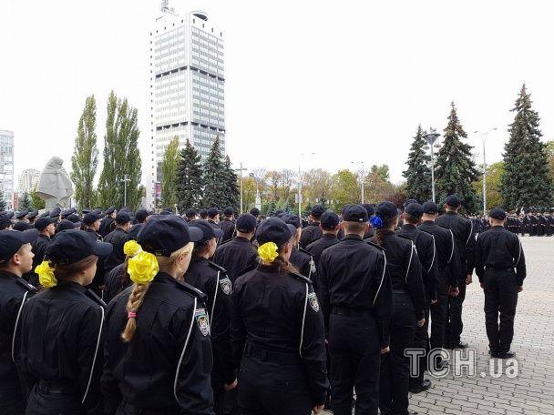 У Києві склали присягу курсанти, яких навчатимуть за новими стандартами Нацполіції
