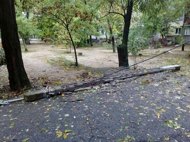 Повалені 120 дерев та знеструмлені населені пункти: що негода залишила після себе в Миколаєві