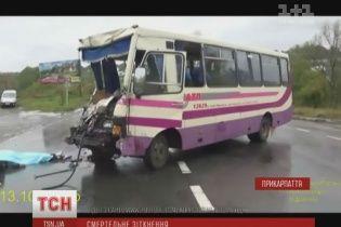 Смертельна ДТП на Прикарпатті: пасажири запам'ятали вигук водія автобуса про керманича вантажівки