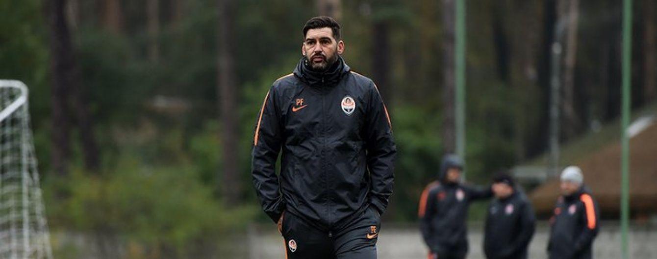 """Тренер """"Шахтаря"""" розповів про кадрові проблеми команди перед матчем з """"Олімпіком"""""""
