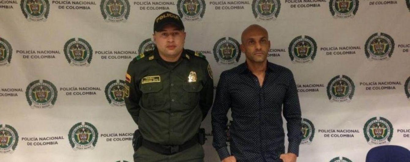 Екс-гравець збірної Колумбії намагався провезти кілограм кокаїну в інтимному місці