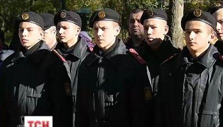 Первокурсники военного лицея Ивана Богуна приняли присягу