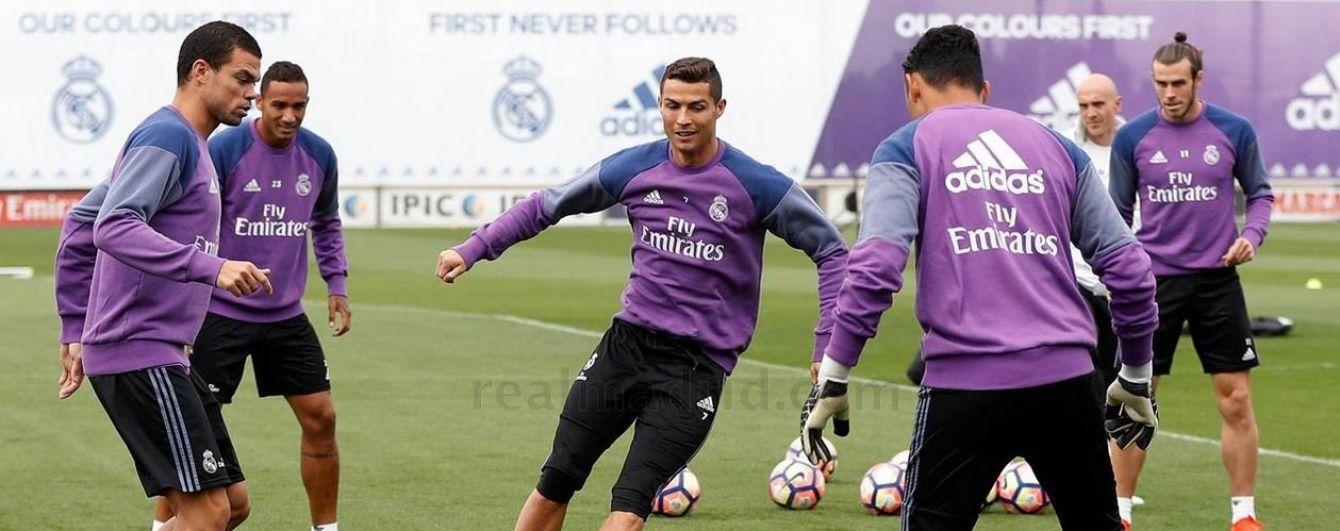 """Захисник """"Реала"""" потролив Роналду на тренуванні команди"""