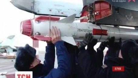 В Крыму по боевой тревоге оккупанты привели войска противовоздушной обороны в полную готовность