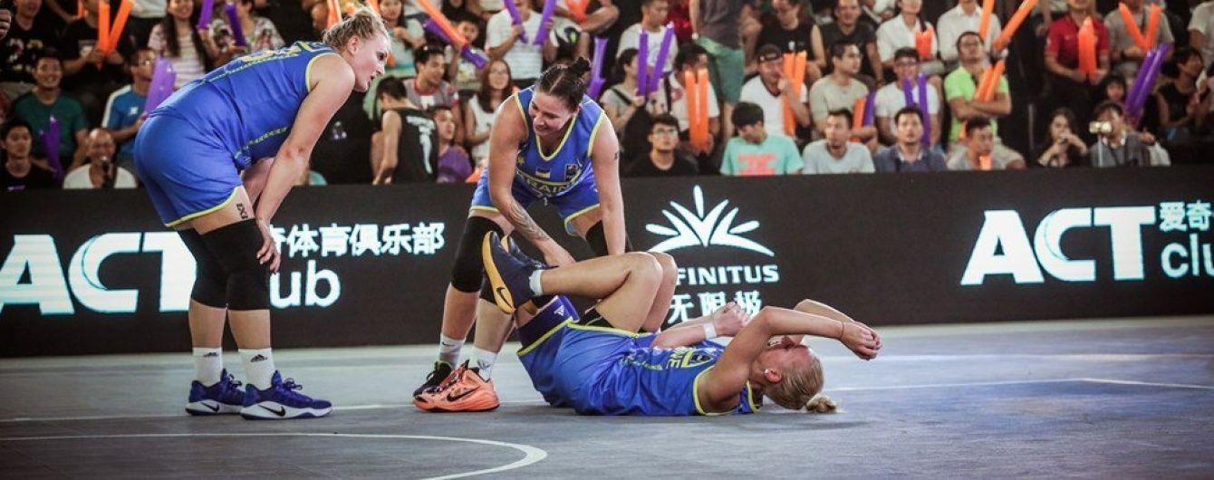 Украинские баскетболистки завоевали серебряные медали чемпионата мира в Китае