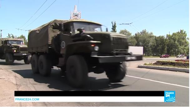 France 24 показав сюжет про участь Росії у війні на Донбасі та провокації бойовиків