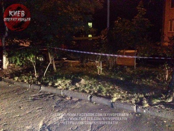 В Киеве посреди улицы нашли взрывоопасный снаряд