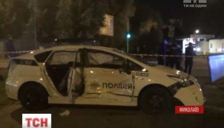 У Миколаєві сталася аварія за участю поліцейських, є постраждалі