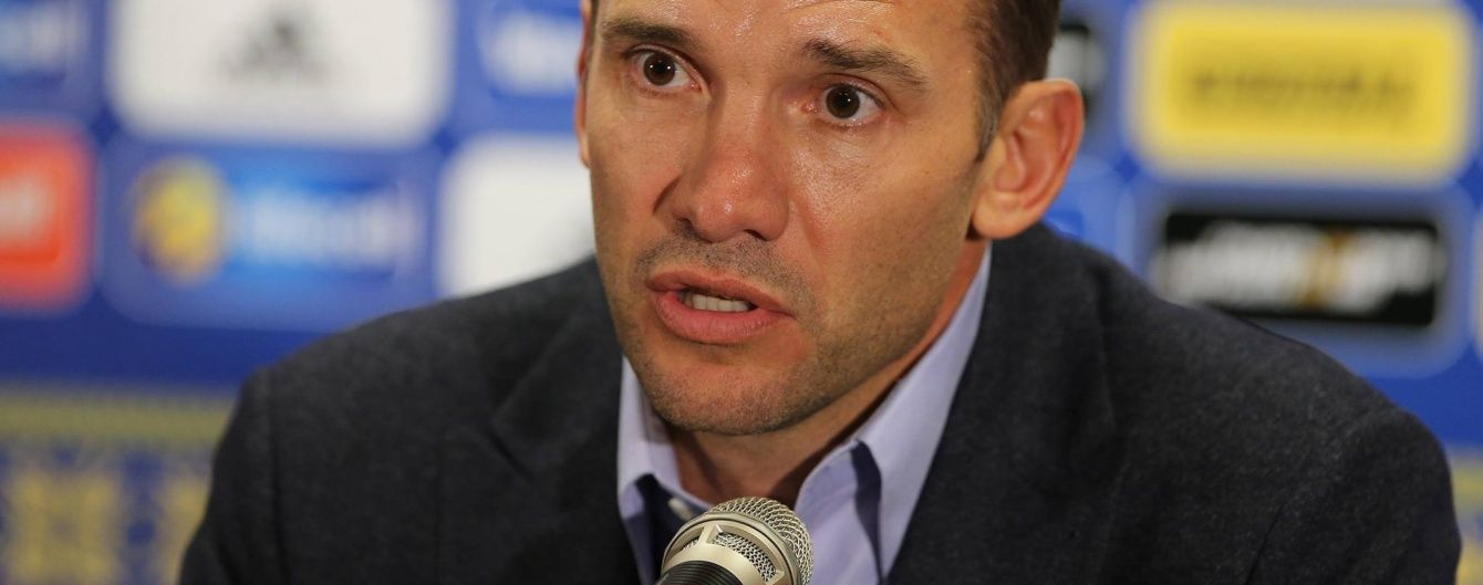 Шевченко считает, что в сборной Украины хватает качественных нападающих