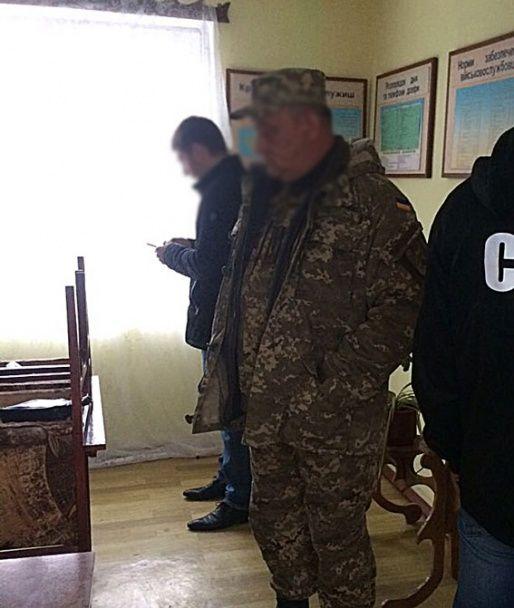 На Одещині через хабар схопили заступника командира роти  військової частини