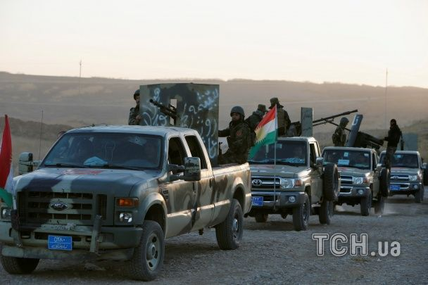 """Десятки тисяч військових та техніки: як триває звільнення іракського Мосулу від бойовиків """"ІД"""""""